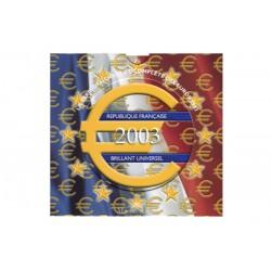 Série Euros France BU 2003
