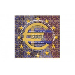 Série Euros France BU 2001