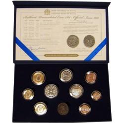 Série Euros Malte BU 2012