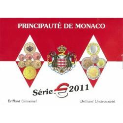 Série Euros Monaco BU 2011