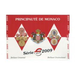 Série Euros Monaco BU 2009