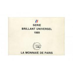 SERIE en Francs -  France 1989