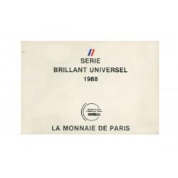 SERIE en Francs -  France 1988