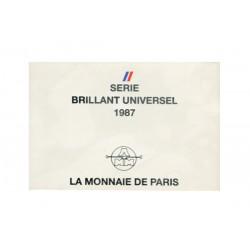 SERIE en Francs -  France 1987