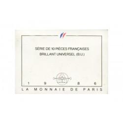 SERIE en Francs -  France 1986