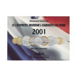 SERIE en Francs BU -  France 2001