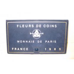 SERIE en Francs FDC -  France 1985