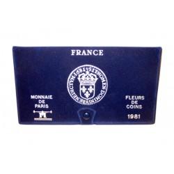 SERIE en Francs FDC -  France 1981