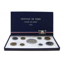 SERIE en Francs FDC -  France 1975