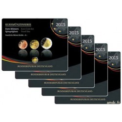 Série Euros Allemagne BE 2015