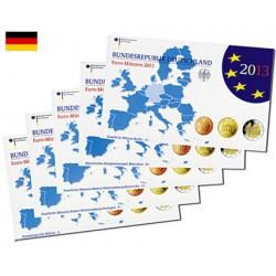 Série Euros Allemagne BE 2013