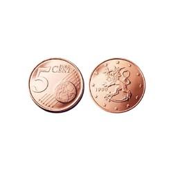 5 Centimes de Finlande 1999