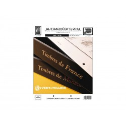 Jeu France FS 2014 2ème semestre-Auto adhésifs YVERT ET TELLIER