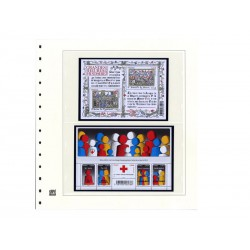 Feuilles France 2013 2ème semestre avec plaquettes couleur