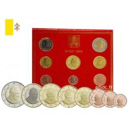 Série Euros Vatican BU 2015