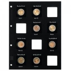 Feuilles MATRIX noires pour classer chacun 12 étuis carton