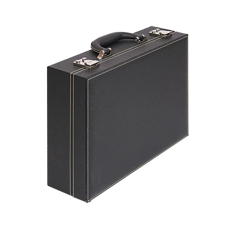 grande valise numismatique de collection nera avec 8. Black Bedroom Furniture Sets. Home Design Ideas
