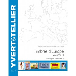 Catalogue Europe Vol 3 - édition 2015 Yvert et Tellier
