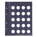 VISTA feuilles numismatiques pour pièces de 2 euros