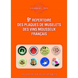 9E REP. DES PLAQUES DE MUSELETS DES VINS DE MOUSSEUX