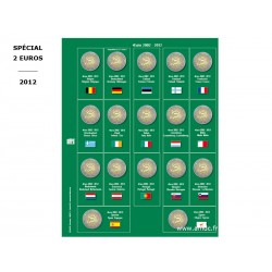 Feuille 2 € 2012 (10 ème anniversaire)