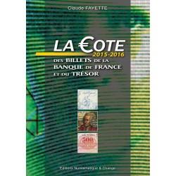 Fayette - La côte billets français et trésor - 2015-2016