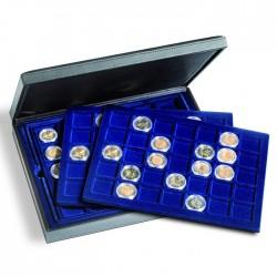Coffret PRESIDIO TRIO avec chacun 35 cases carrées (35 x 35 mm)