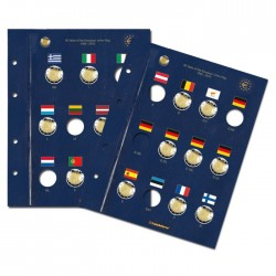 Feuille VISTA pour les 30 ans du drapeau de l'UE