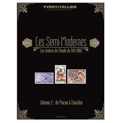 Les Semi-Modernes du Monde-  Vol 2 / YVERT ET TELLIER