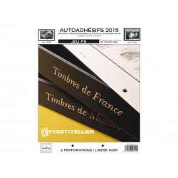 Jeu France FS 2015 2ème semestre Auto adhésifs YVERT ET TELLIER