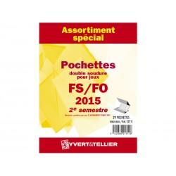 Assortiment de pochettes 2014-2ème semestre (double soudure)