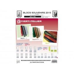 Jeu SC Blocs souvenirs 2014 YVERT ET TELLIER