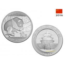 10 Yuans Panda 2016