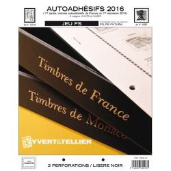 Jeu France FS 2015 1er semestre -Auto adhésifs YVERT ET TELLIER