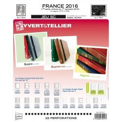 Jeu France 2015-1er semestre SC YVERT ET TELLIER
