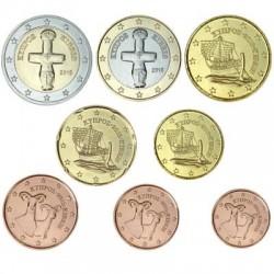 Série Euros Chypre 2015 en euros