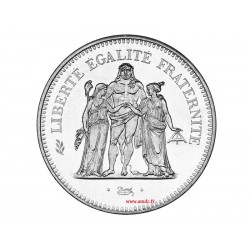 50 Francs HERCULE argent