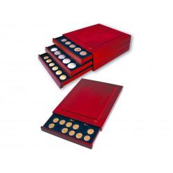 Médailliers NOVA - 80 cases carrées de 17 mm