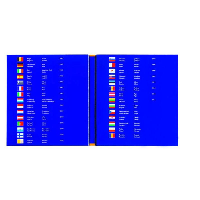 Album PRESSO collection Euro Coin matériel pour le...