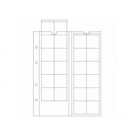 Feuilles OPTIMA 34, 24 cases jusqu'à 34 mm