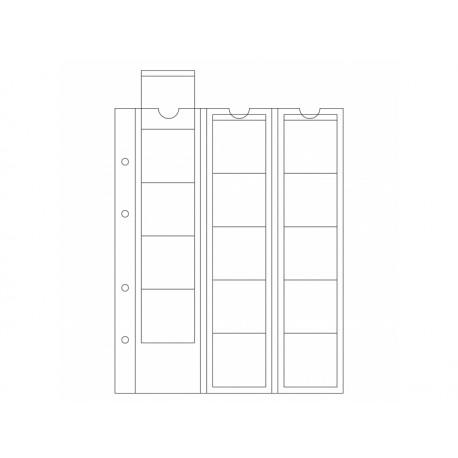 Feuilles OPTIMA 42, 15 cases jusqu'à 42 mm