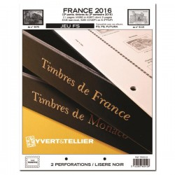 Jeu France FS 2016 2ème semestre YVERT ET TELLIER