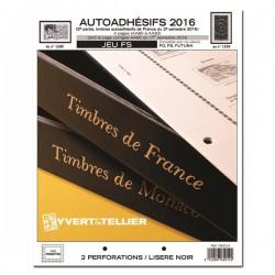 Jeu France FS 2016 2ème semestre Auto adhésifs YVERT ET TELLIER