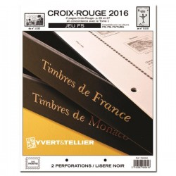 Jeu CROIX ROUGE FS 2015-2016 YVERT ET TELLIER