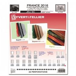 Jeu France 2016-2ème semestre SC YVERT ET TELLIER