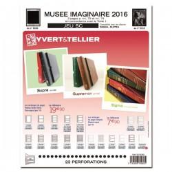 Jeu Musée Imaginaire SC 2016 YVERT ET TELLIER