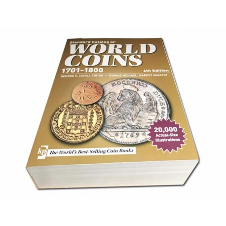 WORLD COINS - 18ème siècle - 6th édition