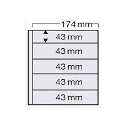Feuille Compact 7879 pour timbres