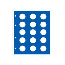 """Feuille """"TOPset"""" supplémentaire pour pièces 2 Euros"""