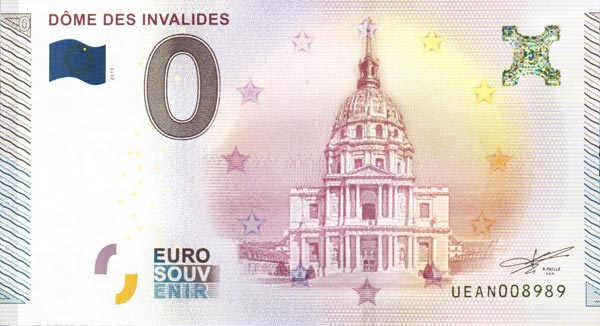 image billet euro souvenir